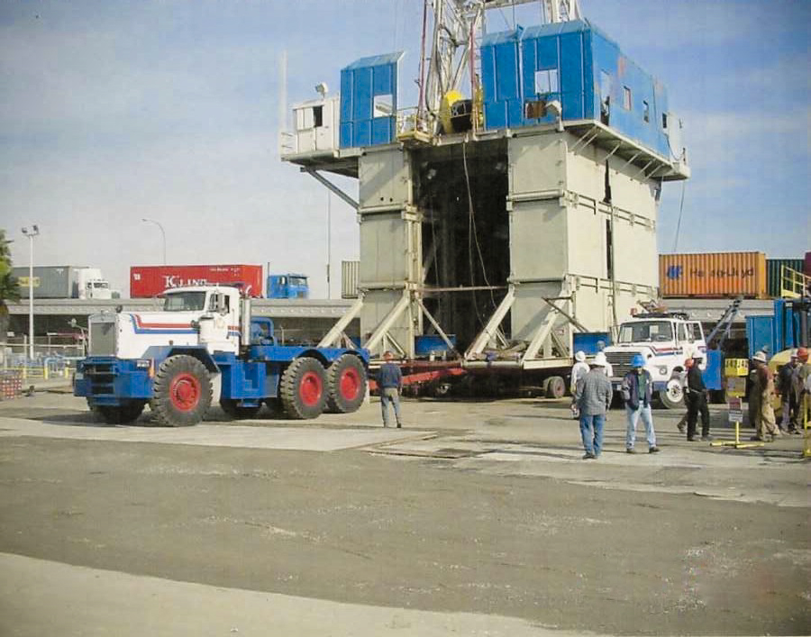 500,000 lb oil rig